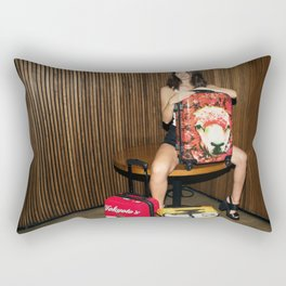 Luggage Rectangular Pillow