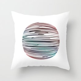 The Harmony of Spectra Throw Pillow