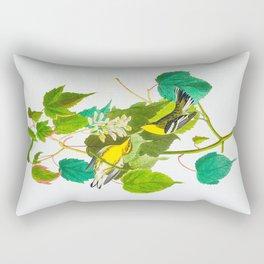 Hemlock Warbler Bird Rectangular Pillow
