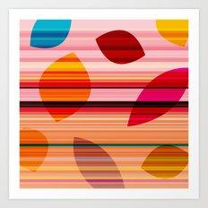 summerstripes Art Print