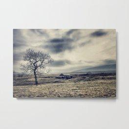Lancashire farm house Metal Print