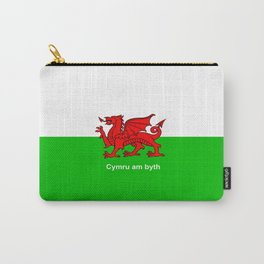 Cymru am byth (Wales For Ever) Carry-All Pouch