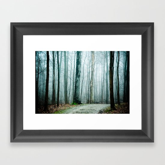 Feel the Moment Slip Away Framed Art Print
