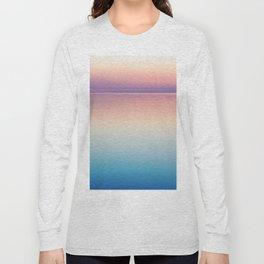 Rainbow Sunset Ocean Long Sleeve T-shirt