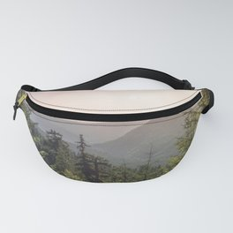 Forest Mountain Wanderlust III - Nature Photography Fanny Pack