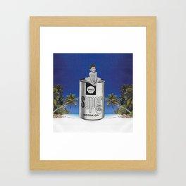 The contempt Framed Art Print