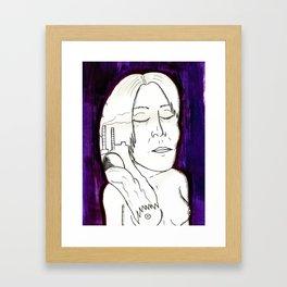 HEAVINESS#5 Framed Art Print