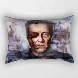 Christopher Walken Terminator Rectangular Pillow