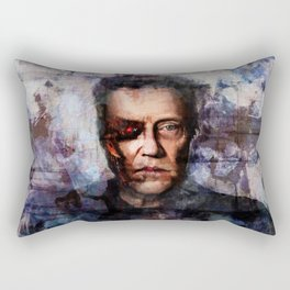 Christopher Walken Terminator Rectangular Pillow