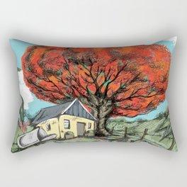 Flamboyan de Carmen Rectangular Pillow