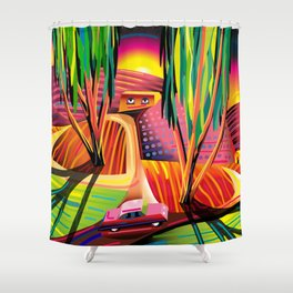 Gorilla Republic Shower Curtain