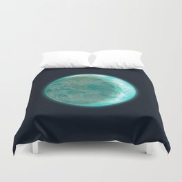 Pale Blue Dot Duvet Cover