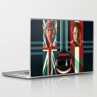rush Laptop & iPad Skins featuring Rush by milanova