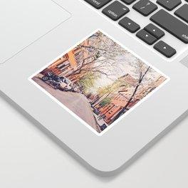 New York City - Springtime in the West Village Sticker