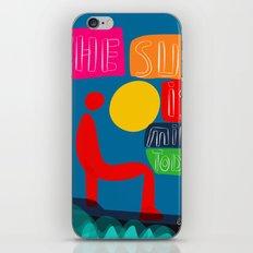 The sun is mine today illustration iPhone Skin