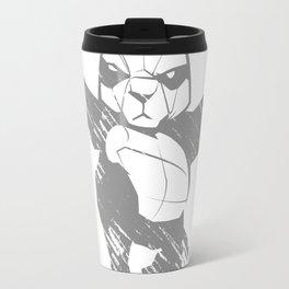 Sketch panda martial arts Travel Mug