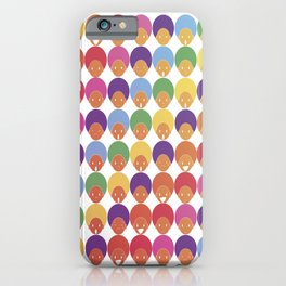 Afro Rainbows iPhone Case