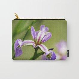 Wild Iris Flower Carry-All Pouch