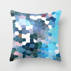 Pattern 7 - Flyin' Blues Throw Pillow