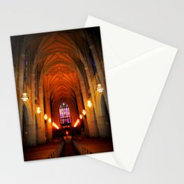 inside the chapel Stationery Cards