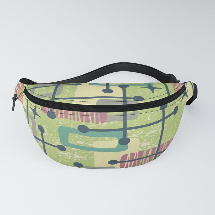 Mid Century Modern Abstract Pattern 832 Fanny Pack