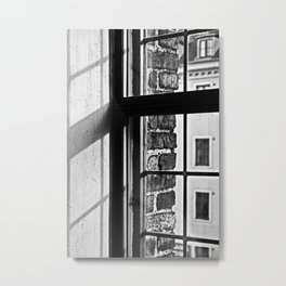 Window shadow Metal Print