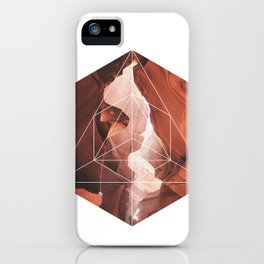 A Great Canyon - Geometric Photography iPhone Case