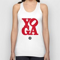 yoga Tank Tops featuring YoGA by Isamu