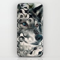 into the wild iPhone & iPod Skins featuring wild by Vin Zzep