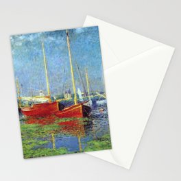Claude Monet - Argenteuil Stationery Cards