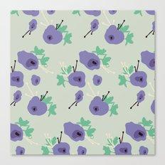 very violet Canvas Print