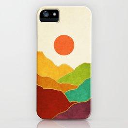 Minimal Landscape 11 iPhone Case