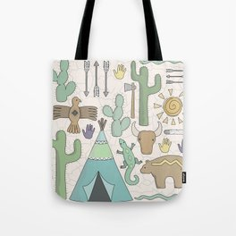 Southwestern mix Tote Bag