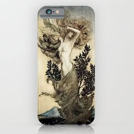 """Daphne Root Bound"" by Arthur Rackham iPhone Case"