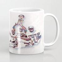 nba Mugs featuring Lebron//NBA Champion 2012 by Largetosti