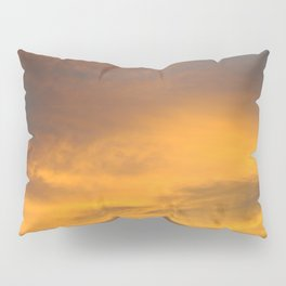 COME AWAY WITH ME - Autumn Sunset #2 #art #society6 Pillow Sham