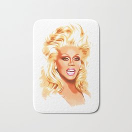 RuPaul - Supermodel - Pop Art Bath Mat