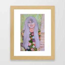 Young Linda Rondstadt Series 2 Framed Art Print