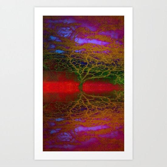 Tangled Tree Art Print