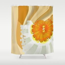 Apocopation Concord Flowers  ID:16165-104553-87970 Shower Curtain
