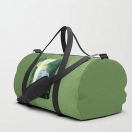 Elephant Walks the Jungle Duffle Bag