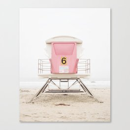 Pink Tower 6 Canvas Print
