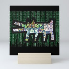 Pied Piper Matrix Dog Mini Art Print