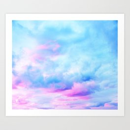 Clouds Series 2 Art Print