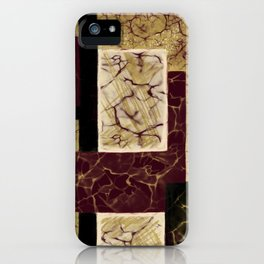 Crackle2 iPhone Case