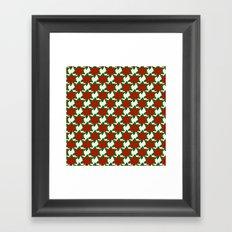 C13D Poinsettia Framed Art Print