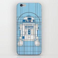 R2D2 Deco Droid iPhone & iPod Skin