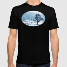 Old pear tree (cool edition) MEDIUM Mens Fitted Tee Black