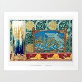 L'animal dans la décoration Art Print