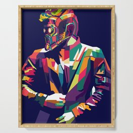 Star Lord WPAP Serving Tray